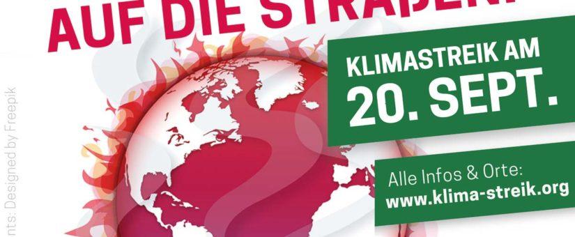 Klimastreik am 20. September